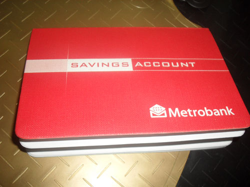 Metrobank Passbook Savings Account