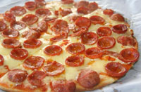All Pepperoni Pizza - Albertos Pizza