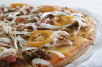 Bacon Special Pizza - Albertos Pizza