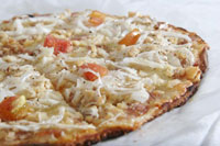 Chicken Garlic Pizza - Albertos Pizza