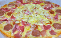 Meaty Royale Pizza - Albertos Pizza