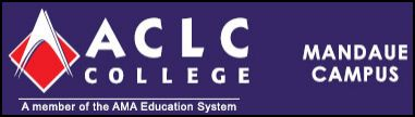 ACLC AMA Computer Learning Center Mandaue Logo