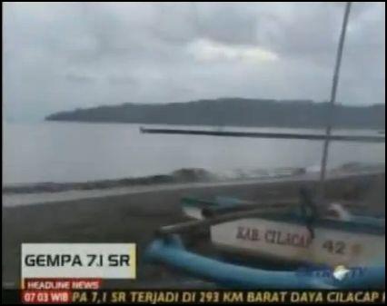 Indonesia Earthquake Tsunami Warning 2011