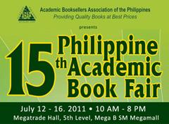 15th Philippine Academic Book Fair 2011