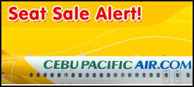 Cebu Pacific Latest Promo for Manila, Cebu, Boracay (Caticlan