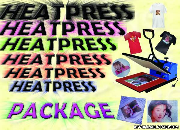 Picture of cuyi highpress package for t-shirt For Sale in Cebu, Philippines