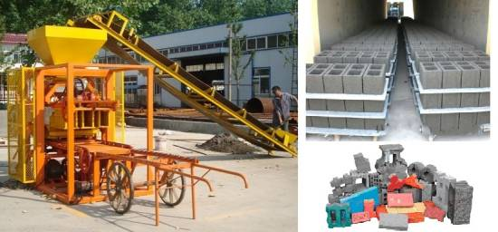 Picture of Automatic Machine for making hollow block, solid brick, paving brick For Sale in Cebu, Philippines