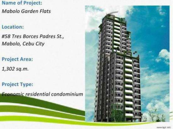 1st picture of Studio Unit @ Mabolo Garden Flats near Ayala Business Center For Sale in Cebu, Philippines