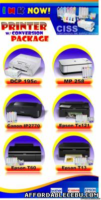 1st picture of Continuous Ink Supply Sytem at INK NOW! For Sale in Cebu, Philippines