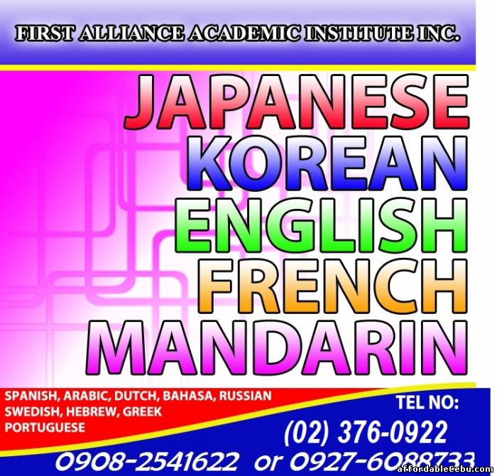 1st picture of FOREIGN LANGUAGE TRAINING Looking For in Cebu, Philippines