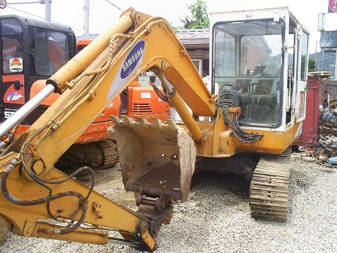 1st picture of For Sale 0 3m3 Samsung MX3A Backhoe For Sale in Cebu, Philippines