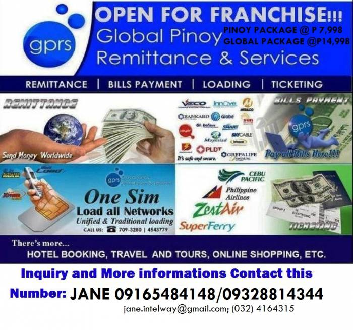 1st picture of 4 IN 1 BUSINESS FOR AS LOW AS PHP7,998 Offer in Cebu, Philippines