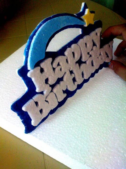 3rd picture of styrofoam cut-outs for birthdays,wedding,christening For Sale in Cebu, Philippines