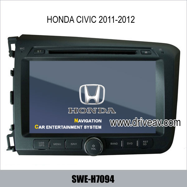 1st picture of Honda CIVIC 2011-2012years radio DVD player,bluetooth,TV,GPS navigate SWE-H7094 For Sale in Cebu, Philippines