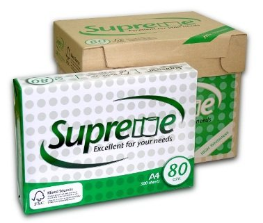 1st picture of Supreme Excellent A4 Copy Paper 80gsm/75gsm/70gsm For Sale in Cebu, Philippines
