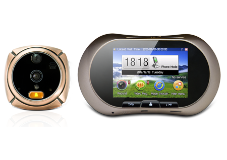 1st picture of Smart Peephole Auto with Sim  = P 4,999.00 For Sale in Cebu, Philippines