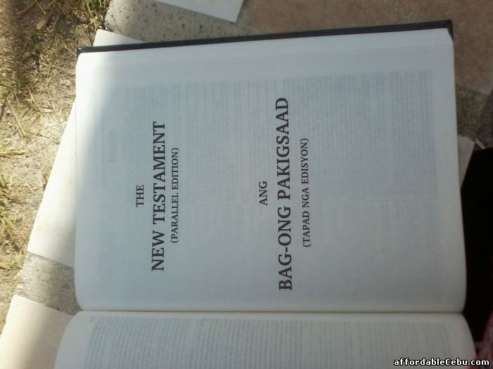 5th picture of KJV Visayan (Parallel) Bible is now Available For Sale in Cebu, Philippines