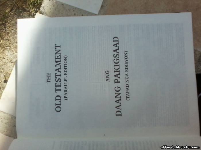 3rd picture of KJV Visayan (Parallel) Bible is now Available For Sale in Cebu, Philippines