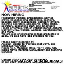 1st picture of NOW HIRING Announcement in Cebu, Philippines