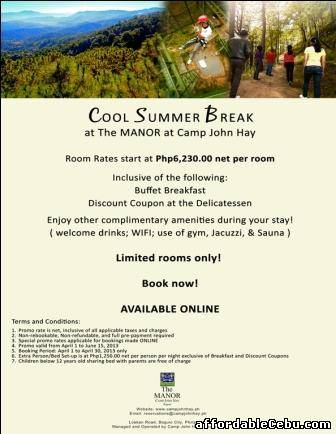 1st picture of Best Hotel in Baguio Summer Treat For Rent in Cebu, Philippines