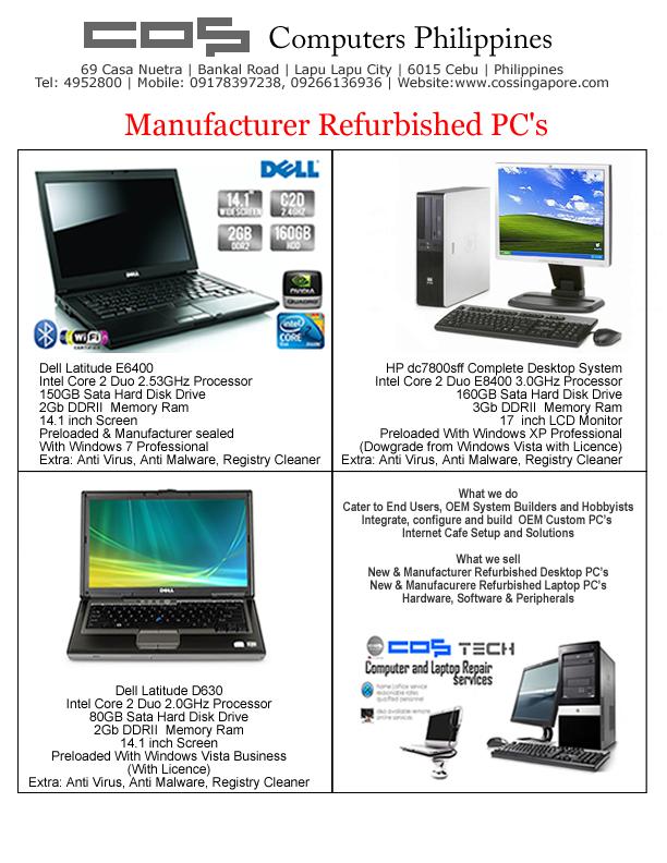 Computer Repair Sales Amp Service Offer Lapu Lapu City Cebu