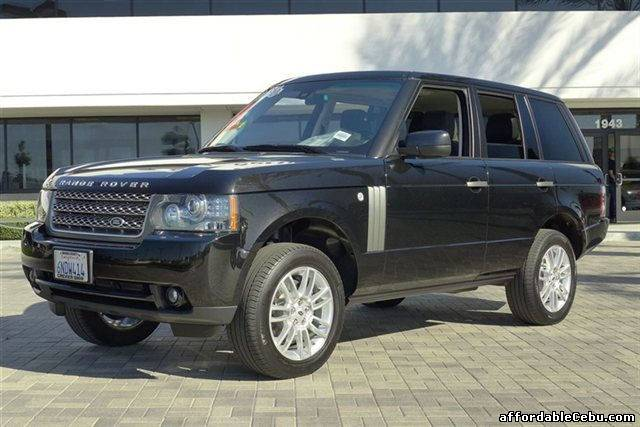 2010 land rover range rover hse for sale balamban cebu. Black Bedroom Furniture Sets. Home Design Ideas