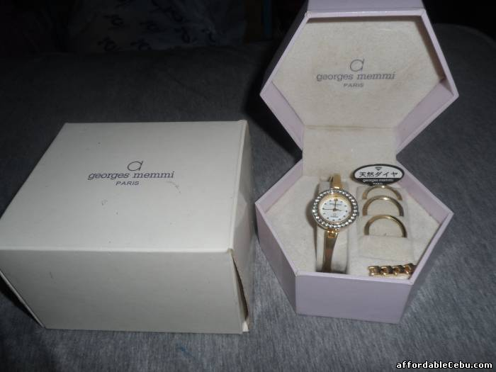 1st picture of Watch (Georges Memmi Paris) For Sale in Cebu, Philippines