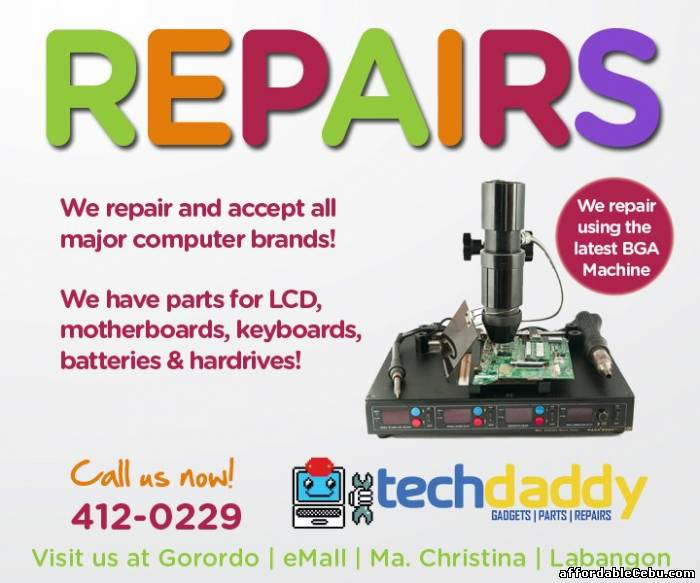 1st picture of ON-CALL IT SYSTEM MAINTENANCE & REPAIR in  Cebu For Sale in Cebu, Philippines