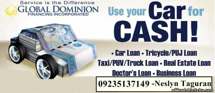 1st picture of Tricycle Loan (up to 10k loanable amount) Offer in Cebu, Philippines