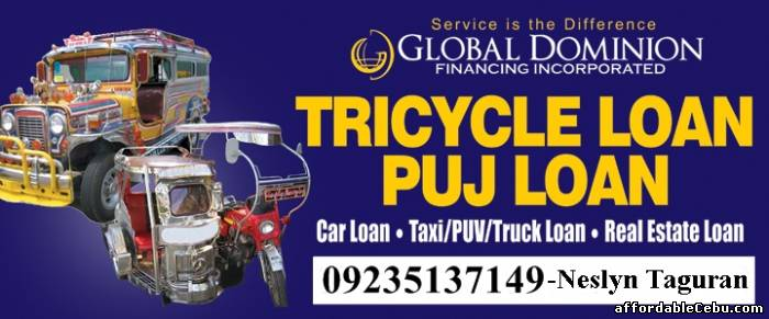 2nd picture of Tricycle Loan (up to 10k loanable amount) Offer in Cebu, Philippines