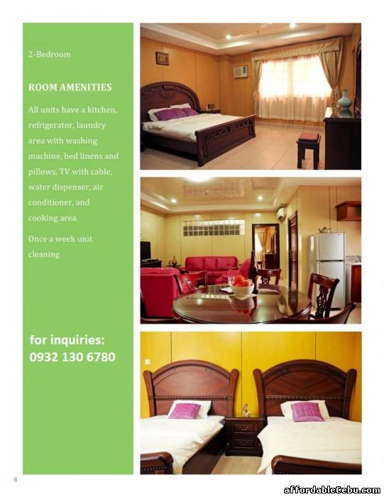 Superb Apartment for rent in Cebu - Mabolo with pool and ...