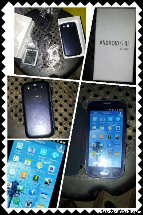 1st picture of BRANDNEW SAMSUNG S3 CLASS A For Sale in Cebu, Philippines
