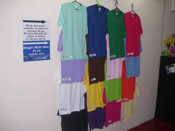 4th picture of YALEX PLAIN SHIRTS WHOLE SALE MARIKINA For Sale in Cebu, Philippines