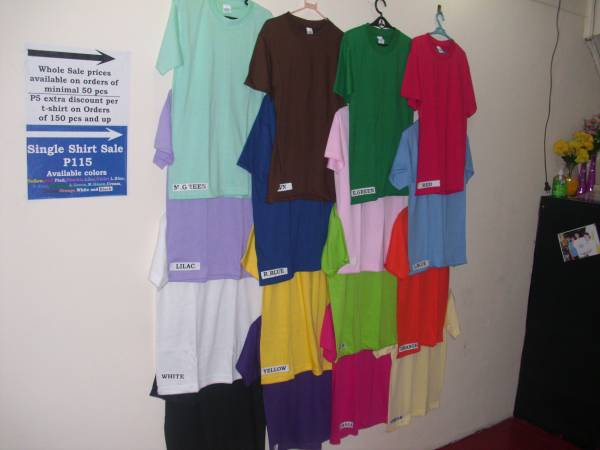 2nd picture of YALEX PLAIN SHIRTS WHOLE SALE MARIKINA For Sale in Cebu, Philippines