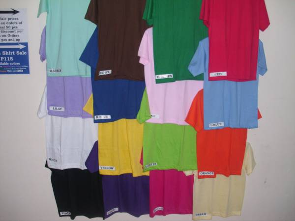 1st picture of YALEX PLAIN SHIRTS WHOLE SALE MARIKINA For Sale in Cebu, Philippines