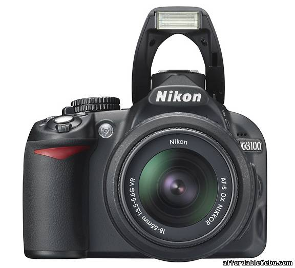 4th picture of NIKON DSLR  D3100 CAMERA For Sale in Cebu, Philippines