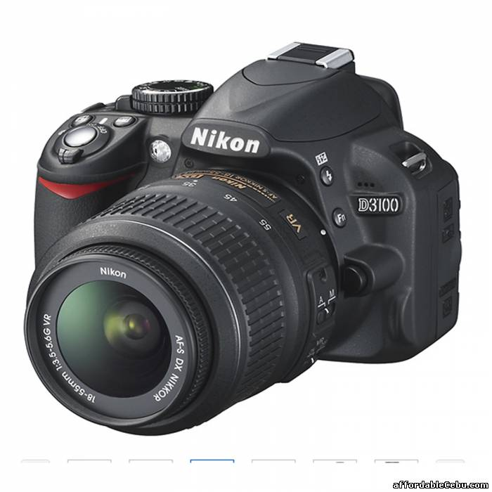 Picture of NIKON DSLR  D3100 CAMERA For Sale in Cebu, Philippines