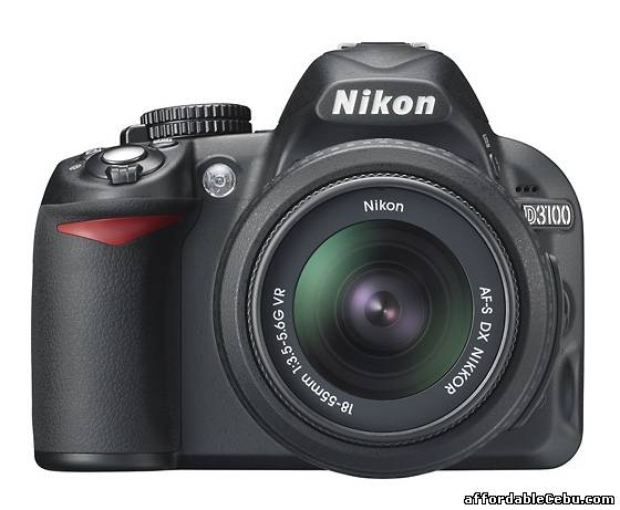 2nd picture of NIKON DSLR  D3100 CAMERA For Sale in Cebu, Philippines