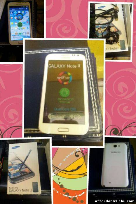 1st picture of BRAND NEW SAMSUNG GALAXY NOTE 2 For Sale in Cebu, Philippines