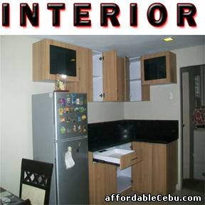 Picture of Modular Kitchen Cabinet For Sale in Cebu, Philippines