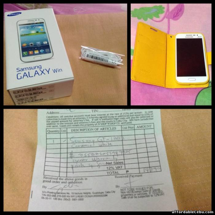 1st picture of Samsung Galaxy Win Duos (cheap) For Sale in Cebu, Philippines