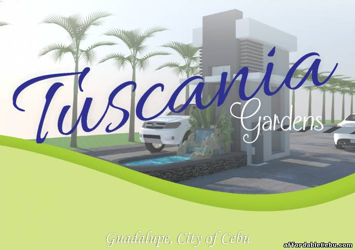 1st picture of A Beautiful Modern Tuscania Gardens Duplex  house and Lot 4 sale in Guadalupe Cebu City For Sale in Cebu, Philippines
