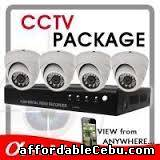 1st picture of 4-CAMERA INDOOR CCTV PACKAGED WITH IR AND 1 Megapixel RESOLUTION For Sale in Cebu, Philippines