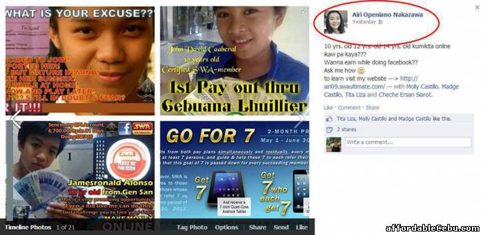 3rd picture of FREE.... Video on how to make money using FACEBOOK.. Offer in Cebu, Philippines