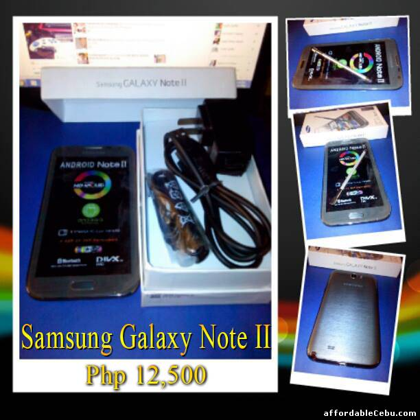 1st picture of FOR SALE : SAMSUNG GALAXY NOTE 2 TEXT 09235552722 For Sale in Cebu, Philippines