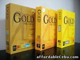 1st picture of Gold star paper  A4 Copy Paper 80gsm/75gsm/70gsm For Sale in Cebu, Philippines