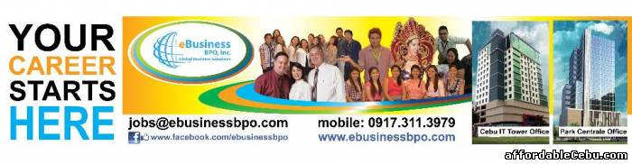 1st picture of URGENT HIRING! Call Center-Graphic Designer!!! Looking For in Cebu, Philippines