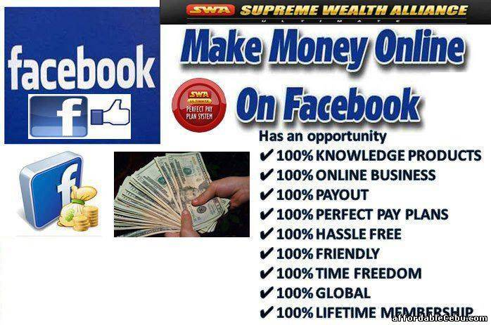 1st picture of KUMITA NG EXTRA INCOME FULL TIME OR PART-TIME SA FACEBOOK HOMEBASED Offer in Cebu, Philippines