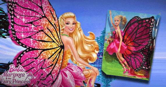 3rd picture of Barbie Mariposa and The Fairy Princess For Sale in Cebu, Philippines