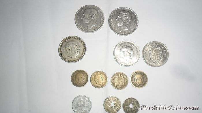 1st picture of Spanish old silver coins For Sale in Cebu, Philippines